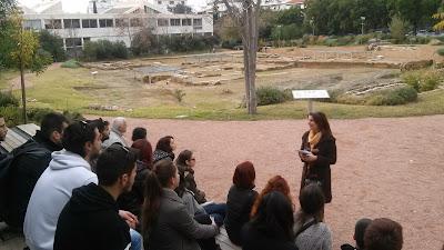 Εκδρομή στο λύκειο του Αριστοτέλη - Νέα Ακρόπολη Αθήνας