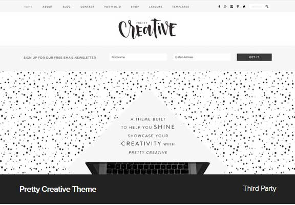 Pretty Creative Theme Award Winning Pro Themes for Wordpress Blog :Award Winning Blog