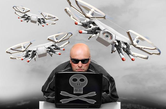 Beginilah Cara Yang Di Gunakan Oleh Hacker Untuk Meretas Sebuah Drone