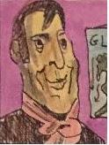 Caricatura de David Ricardo por E.V.Pita (2019)