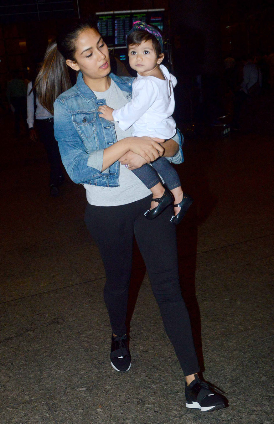 Pictures of Bollywood Celebrities and Their Kids