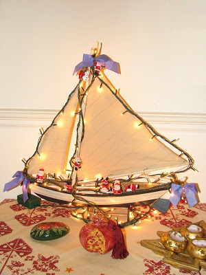 greek christmas boat - Greek Christmas Decorations