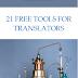 E-book: 21 ferramentas gratuitas para tradutores