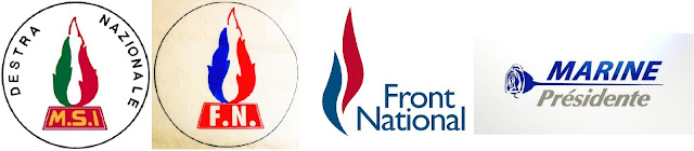 Evolutions du logo du Front National