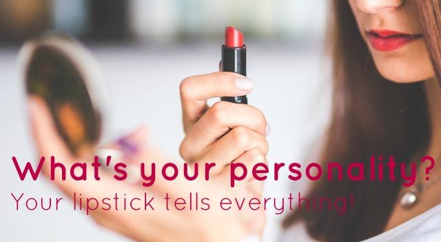 Lipstick personality quiz
