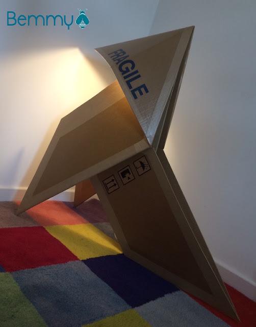 lampe cocotte en carton