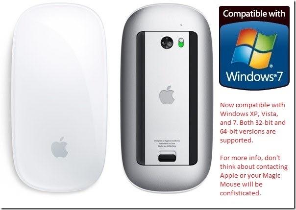 apple magic mouse on windows 7. Black Bedroom Furniture Sets. Home Design Ideas