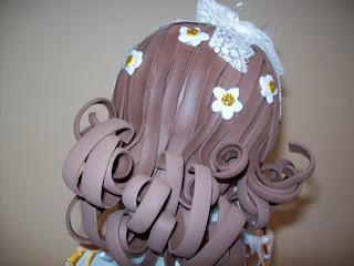 Como hacer peinados fofuchas comunion