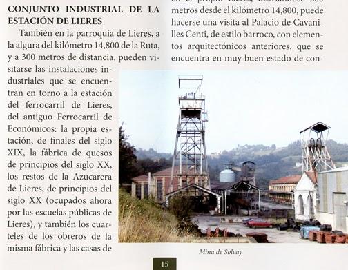 Castilletes del pozo Pumarabule, con el pie de foto equivocado