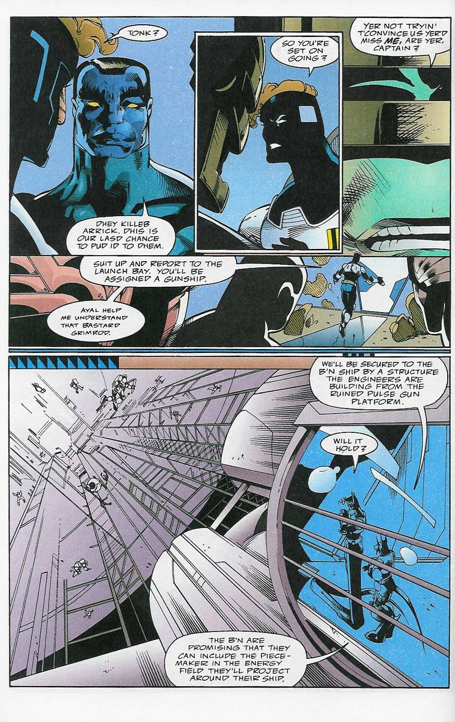 Alien Legion: On the Edge issue 2 - Page 37