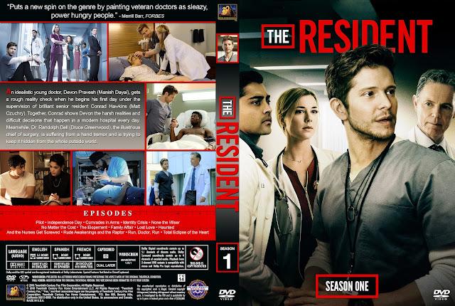 The Resident Season 1 DVD Cover