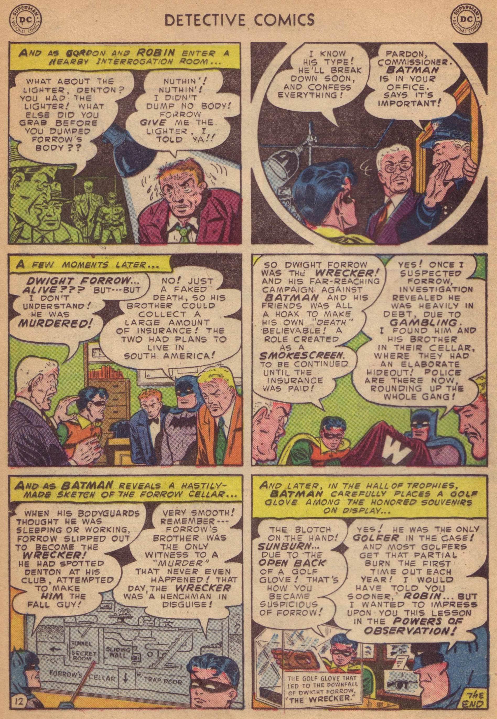 Read online Detective Comics (1937) comic -  Issue #197 - 14