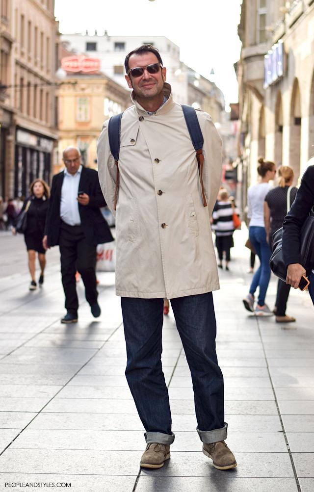 muski outfit, street style, ulična moda Zagreb, Boris Kovaček, Vintage Zagreb, Pepermint