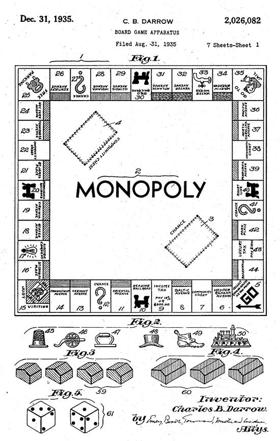 Monopoly patent 1935