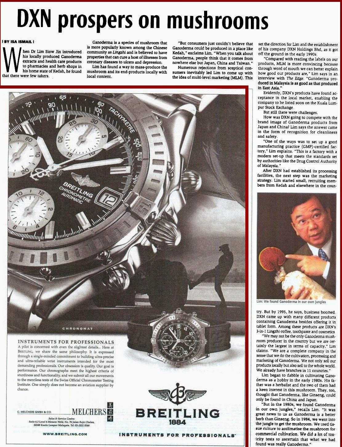 DXN - News of Ganoderma