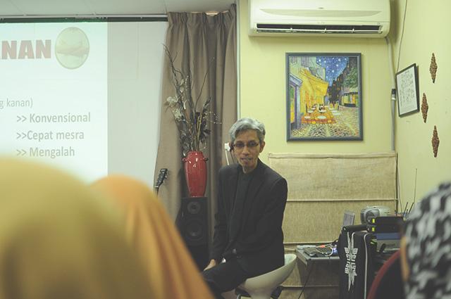 Dr Mirhazil mengajar tentang aura