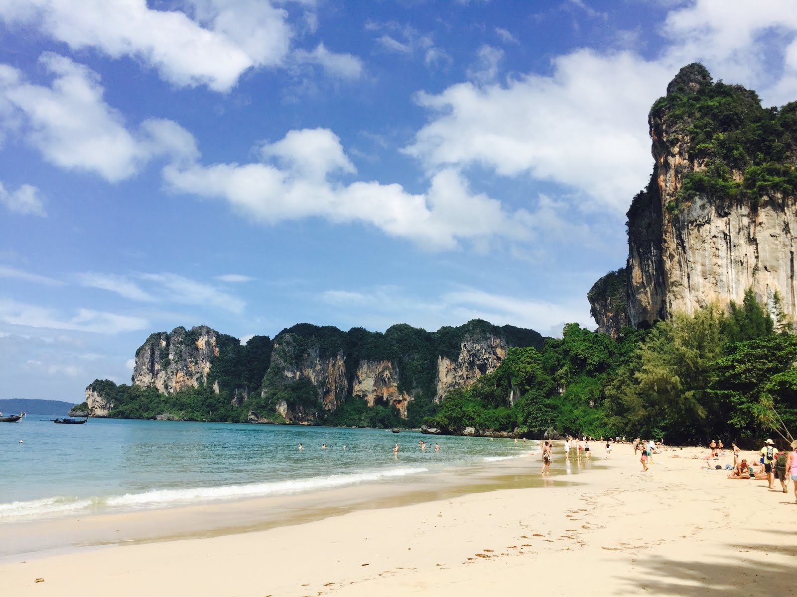 Railay Bay in Krabi, Thailand