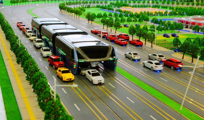 Proyek Transit Elevated Bus