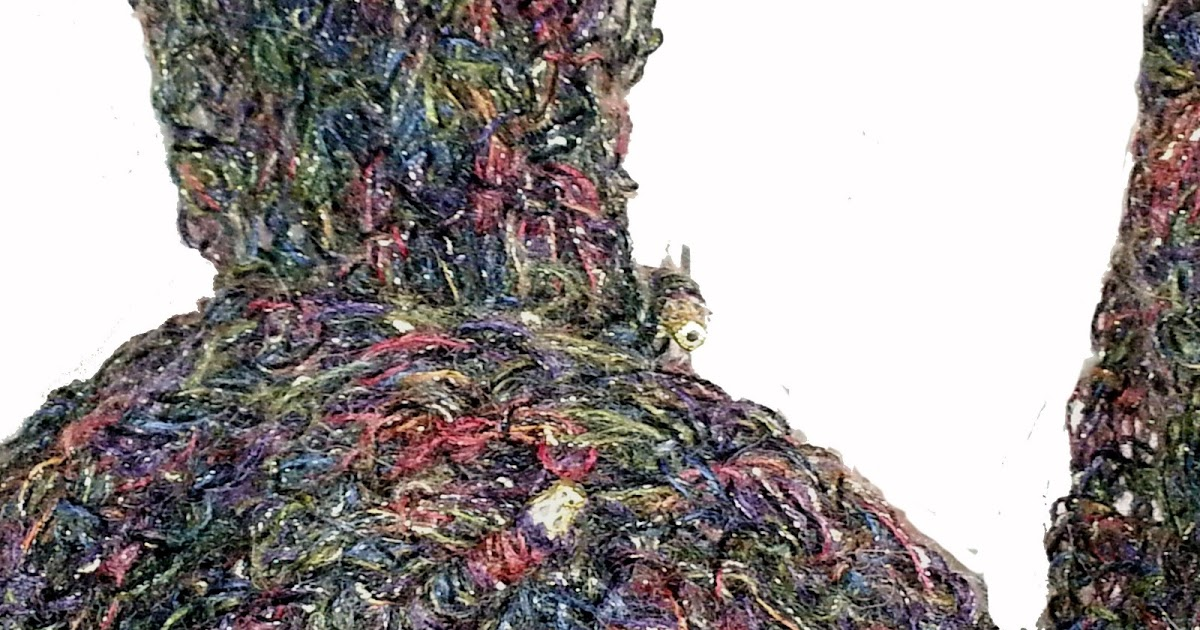 lo spazio di lilla stola crochet gioiello quando la