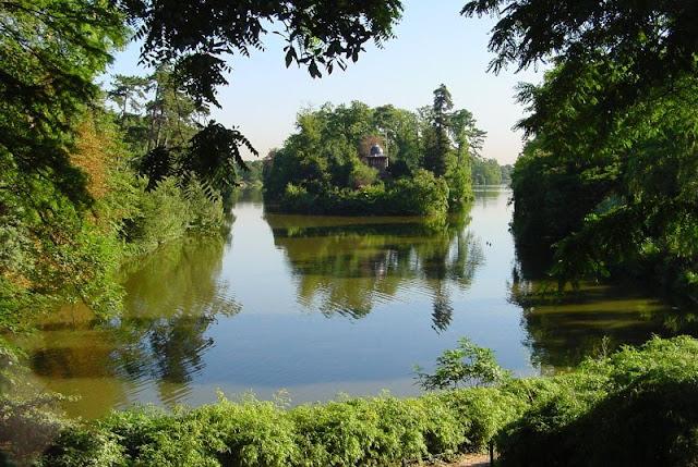 Le Bois de Boulogne em Paris