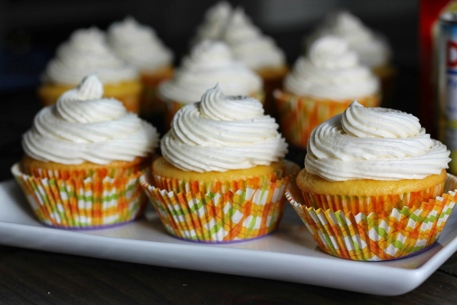 Pineapple Lemon Cupcakes {Cream Cheese Frosting}