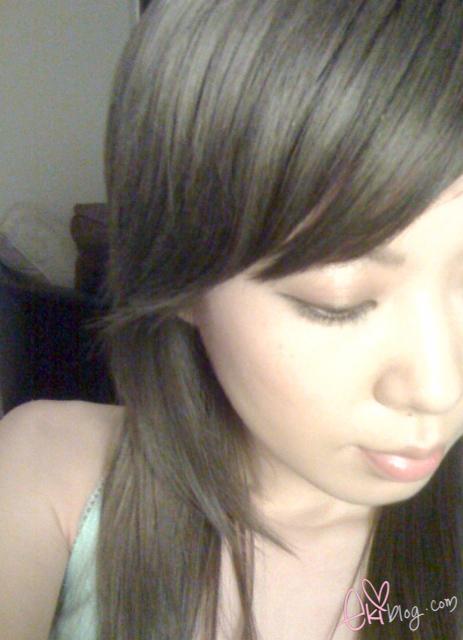 ekiBlog.com: Hair Bleaching and Light ash brown hair color
