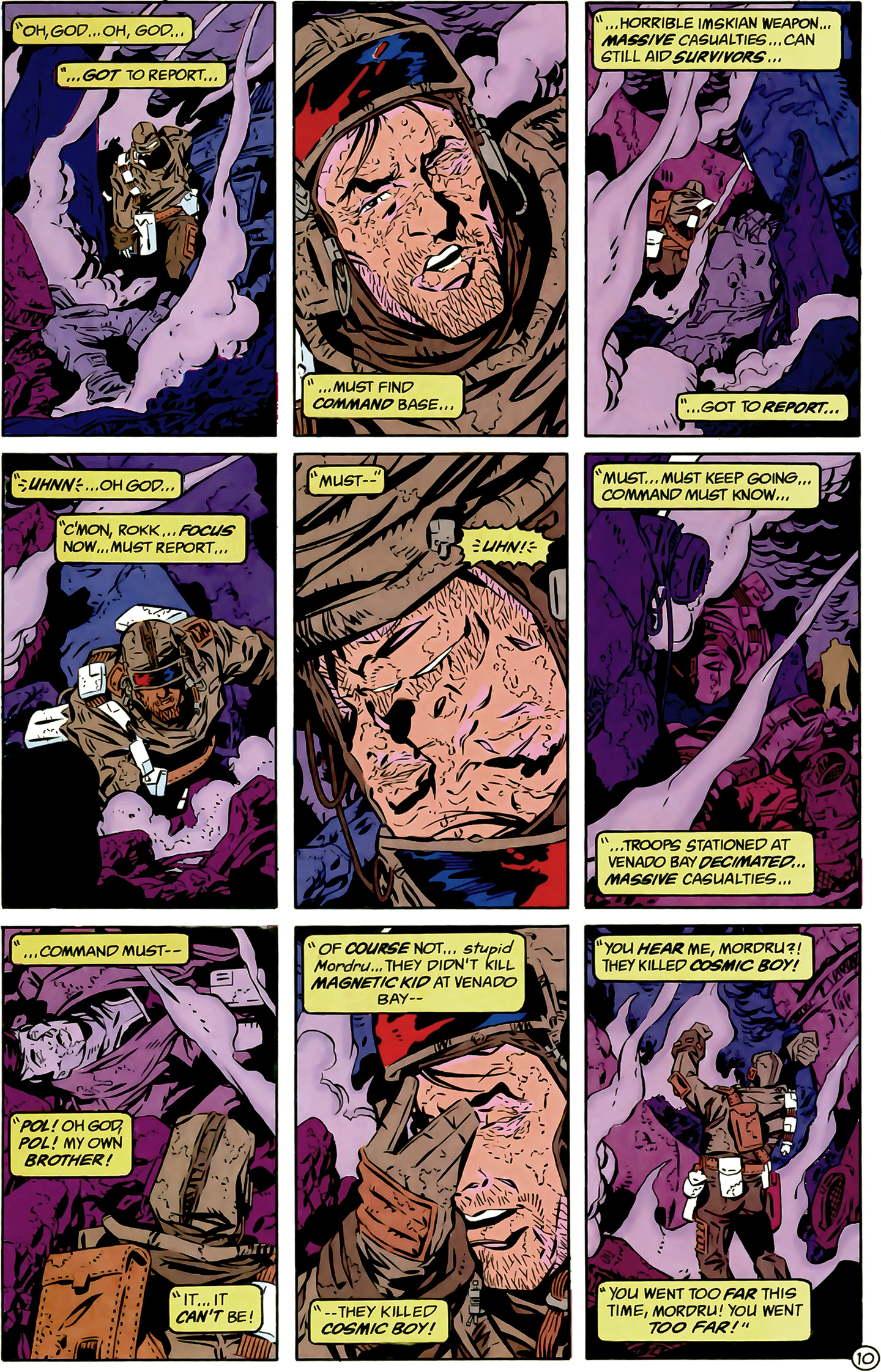 Legion of Super-Heroes (1989) 6 Page 10