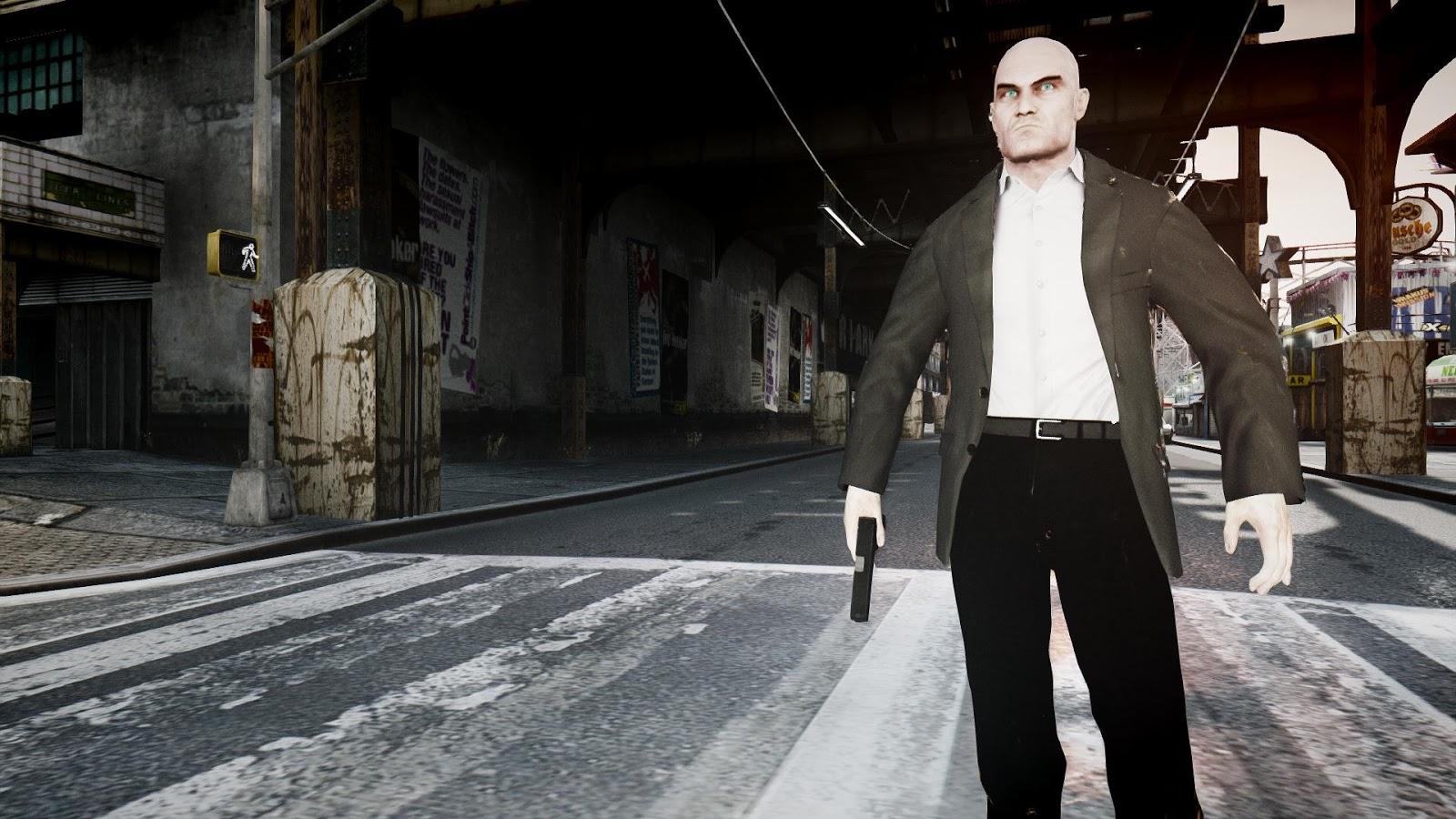 GTA 5,GTAV,GTA IV Mods and Skins: Hitman Absolution Pack