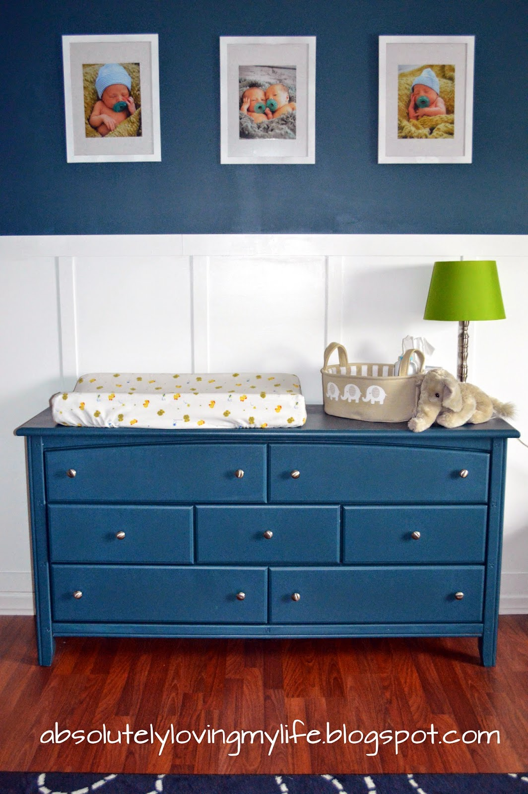 Loving Life Re Purposed Goodwill Dresser Nursery Changing Table