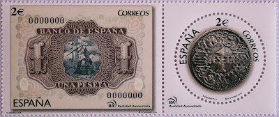 MONEDA Y BILLETE DE PESETA