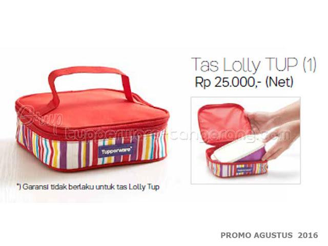 Tas Lolly Tup Promo tupperware Agustus 2016