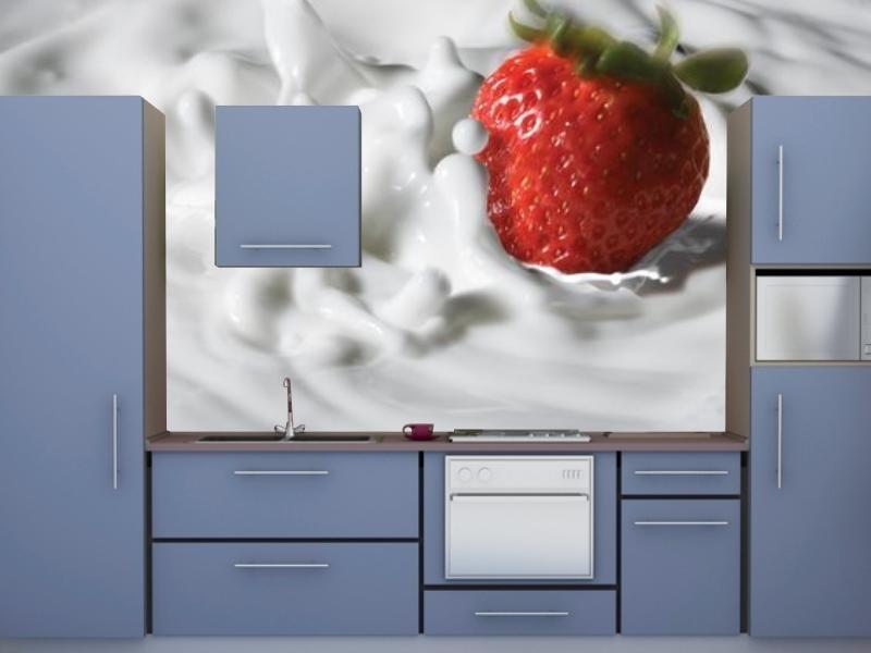 kuchnia w kolorze niebieskiem