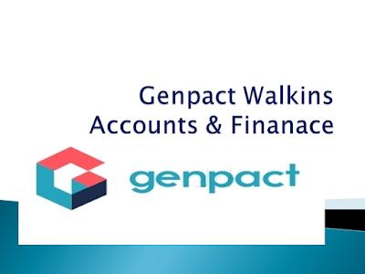 Genpact Walk-Ins - Accounts & Finanace |18th to 20th July2018 | Hyderabad