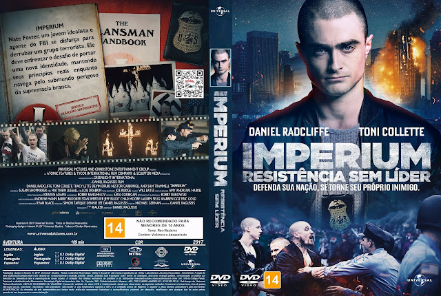 Capa DVD Imperium Resistência Sem Lider [Custom]