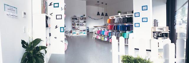 GrinseStern Innsbruck, Stoffladen, Stoffliebe, Streichelstoff, Stoff kaufen, Tirol