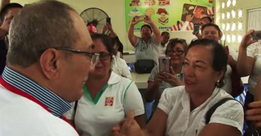 MINEDU: Ministro Idel Vexler conversa con docentes de Iquitos [VIDEO] www.minedu.gob.pe