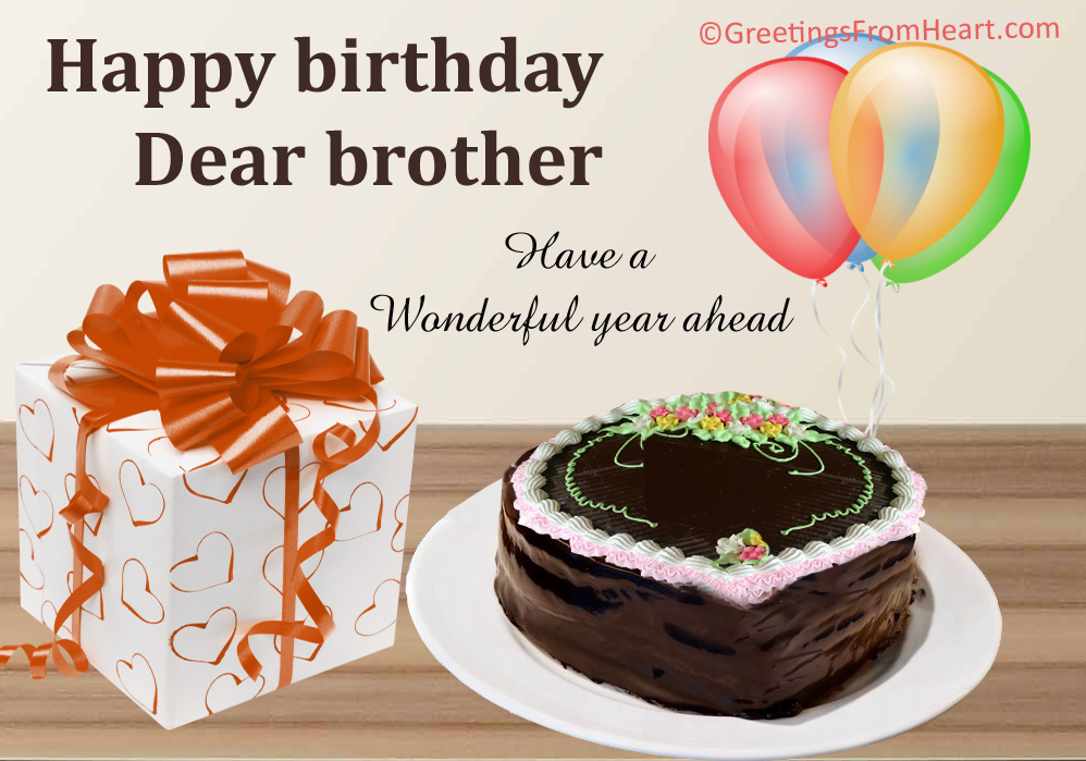 Top images of happy birthday wishes for brother from sister happy birthday wishes for brothers m4hsunfo