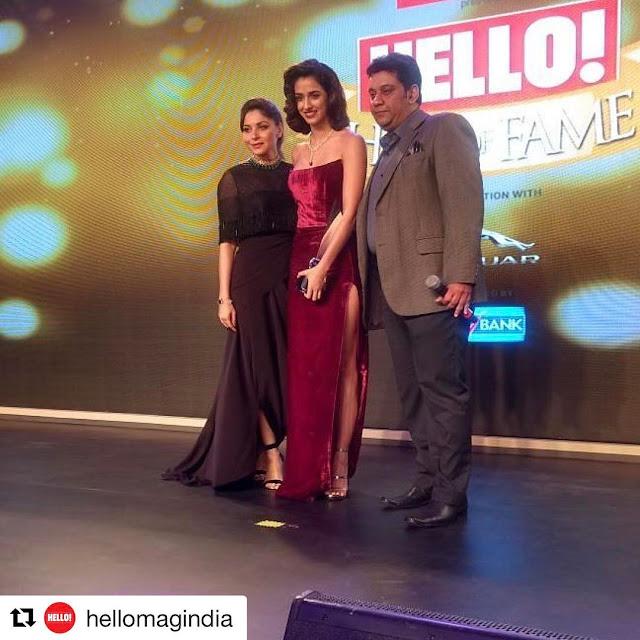 Disha Patani Looking Cool at Hello Hall of Fame Awards