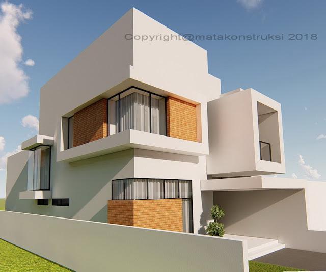 tampak rumah modern