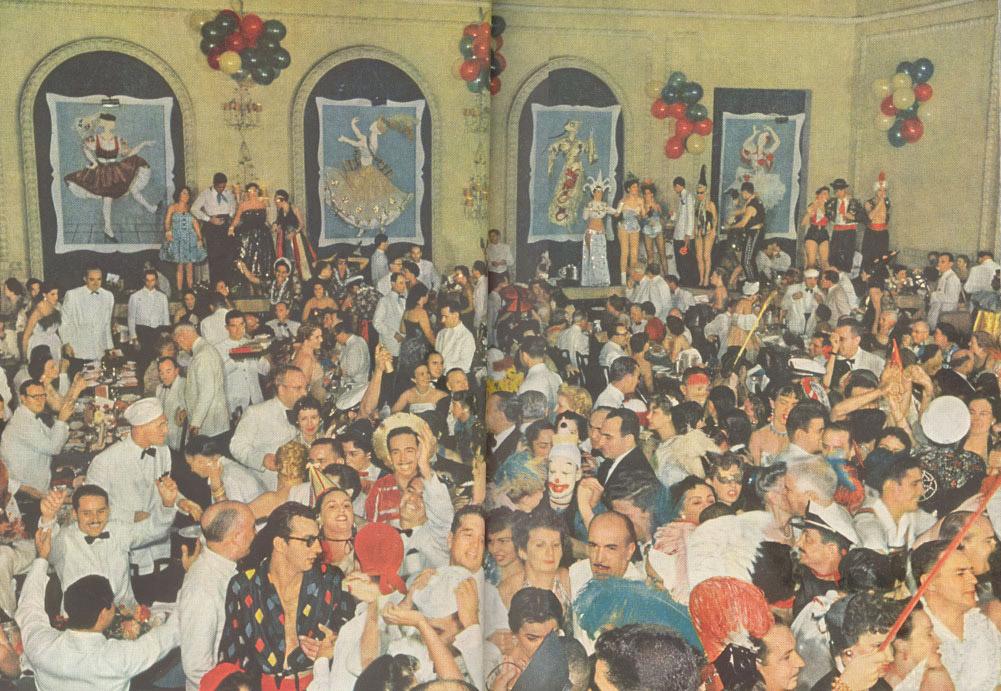 Baile de carnaval antigo 1989 - 2 10