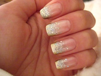 Collectionphotos 2017 2014 nice cute french nail manicure design glitter nail designs prinsesfo Image collections