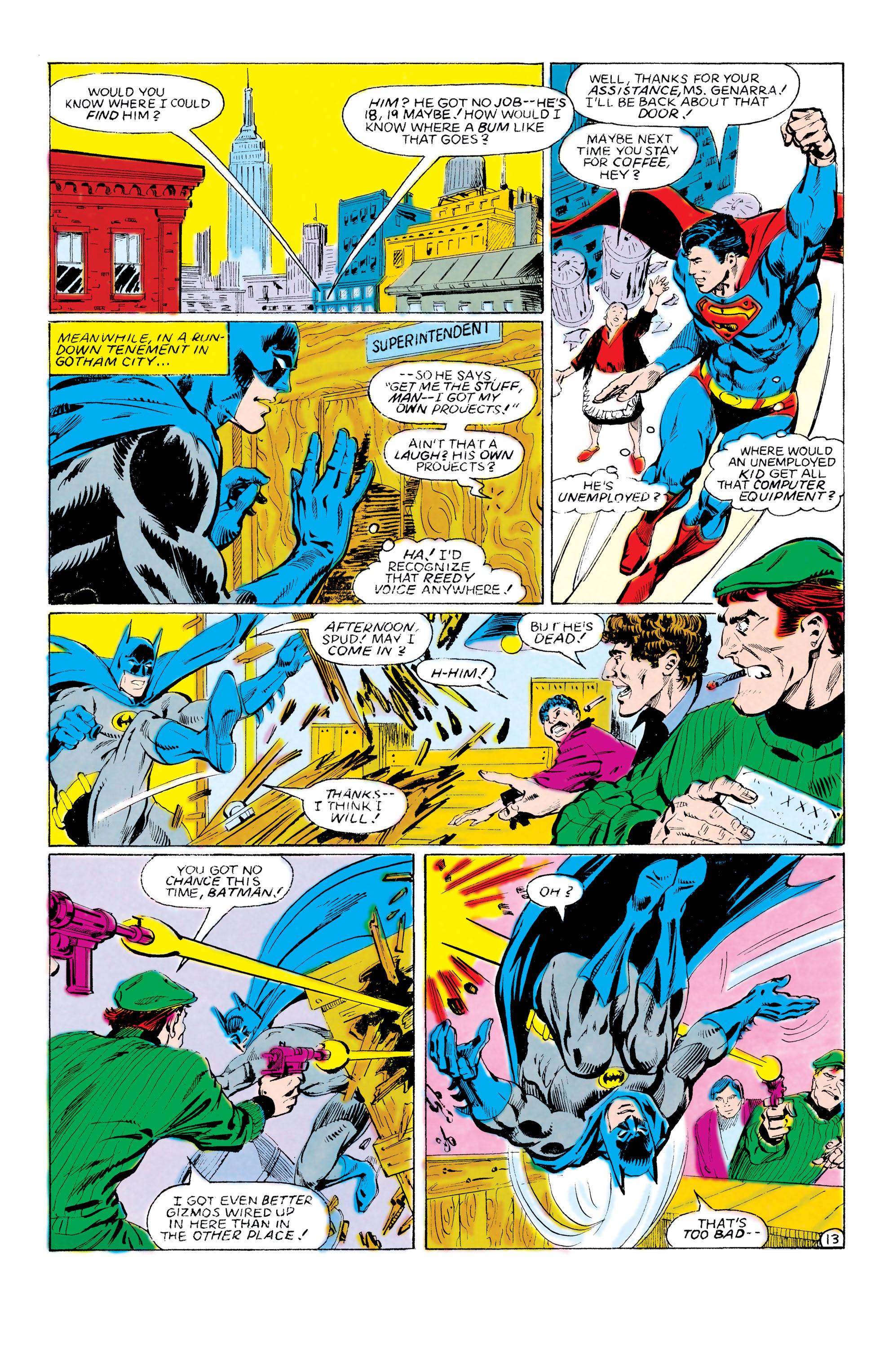 Read online World's Finest Comics comic -  Issue #308 - 14