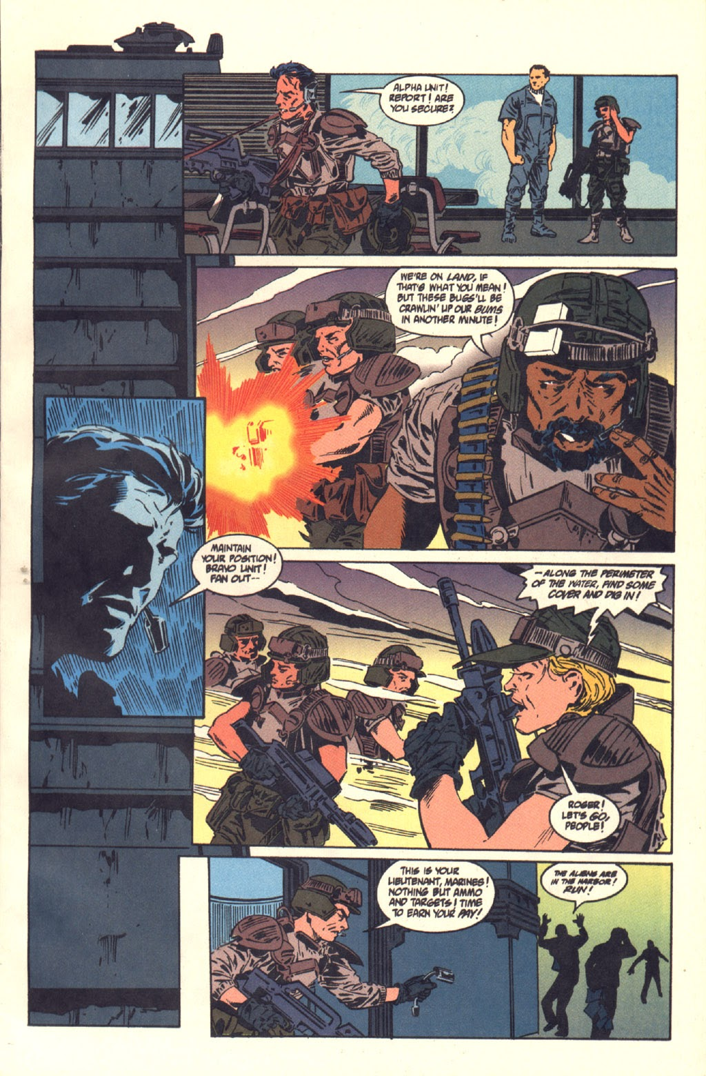 Read online Aliens: Colonial Marines comic -  Issue #6 - 3