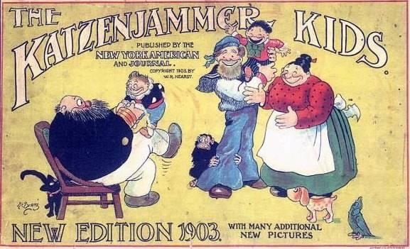 """Uma edição de 1903 de """"Os Sobrinhos do Capitão"""" foi a primeira a mostrar o ronco com a letra Z"""