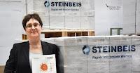 Ministerin Heinhold  beim Recycling-Papier-Hersteller Steinbeis in Glücksstadt
