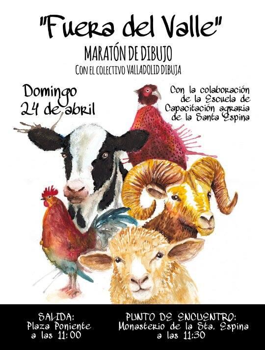 Valladolid dibuja fuera del valle 51 sketchcrawl for Fuera de juego del valladolid