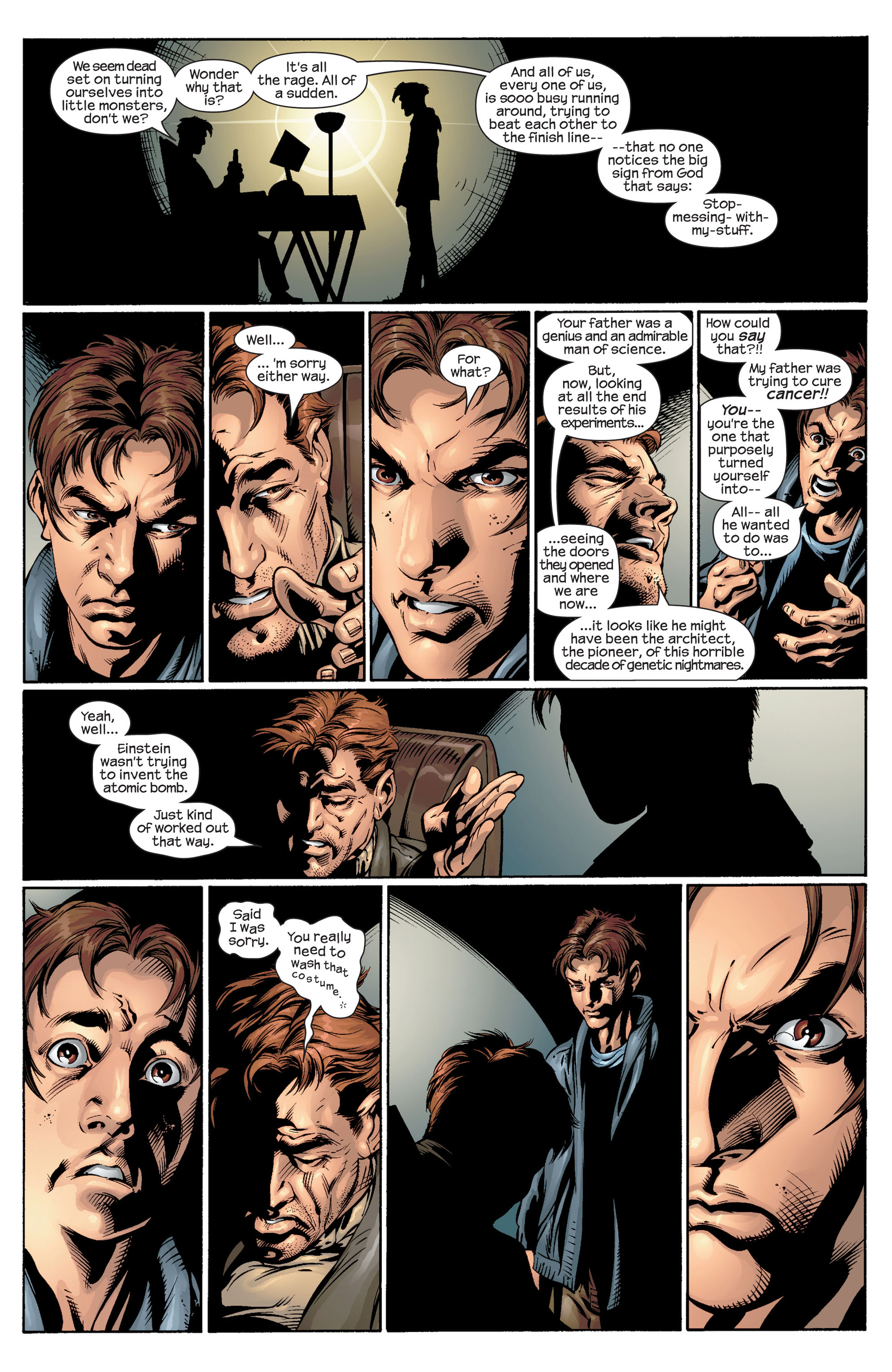 Read online Ultimate Spider-Man (2000) comic -  Issue #39 - 21