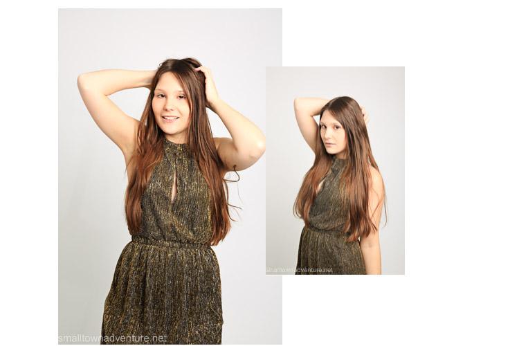Ootd Weihnachtsoutfit , Goldenes Kleid, Glitzerkleid, H&M, Fashionblogger, Was ich an mir mag, Koume, 3 of a Kind, Metallic Trend, Kleider besondere Anlässe