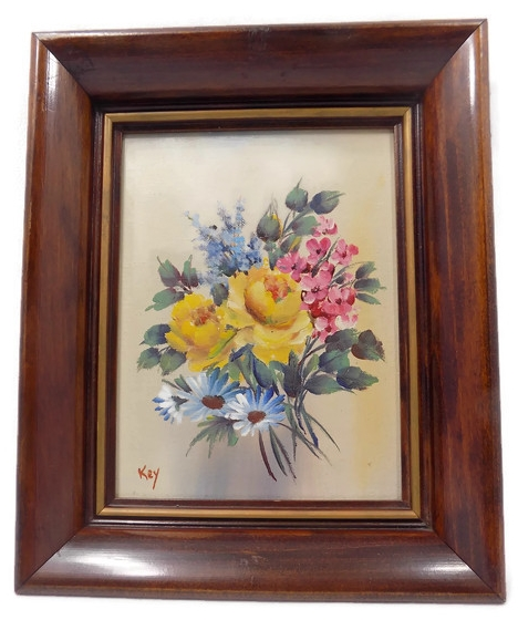 Vivian Schuyler Key Vintage Oil Painting