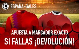 sportium Promo Gales vs España 11 octubre